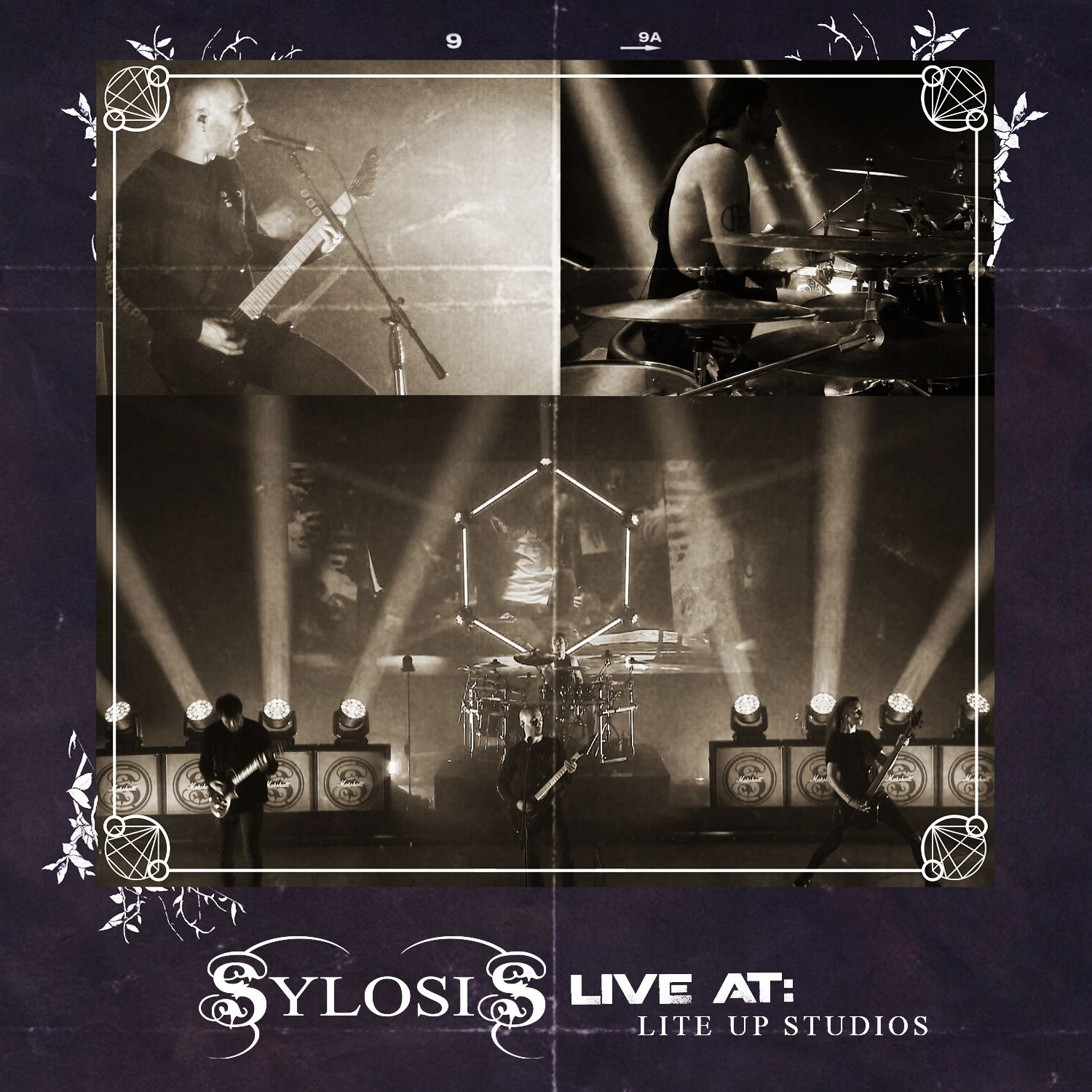 SYLOSIS - LIVE AT: LITE UP STUDIOS POSTER